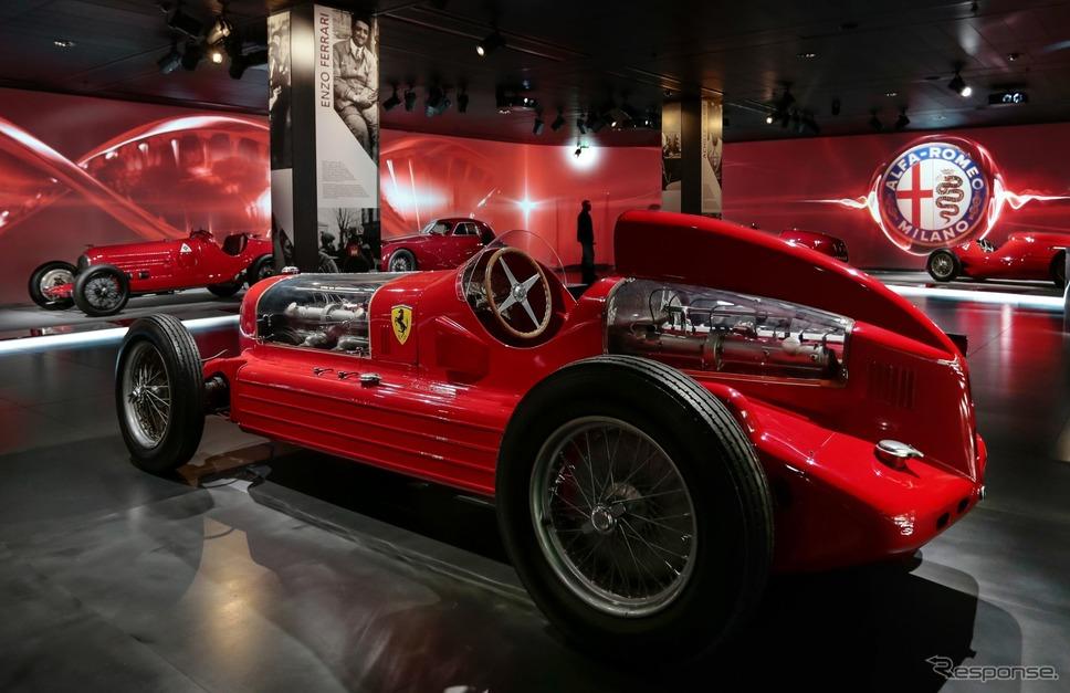 アルファロメオ歴史博物館のコレクション(ツインエンジン)《photo by Alfa Romeo》