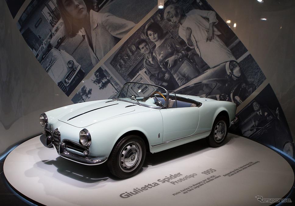 アルファロメオ歴史博物館のコレクション(ジュリエッタ・スパイダー・プロトタイプ)《photo by Alfa Romeo》