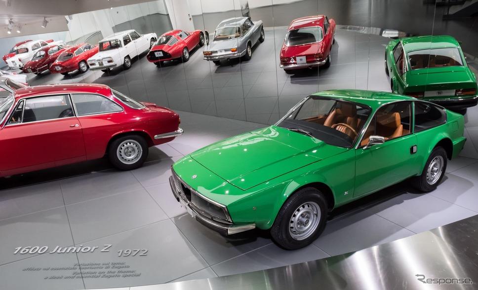 アルファロメオ歴史博物館のコレクション(ジュリエッタとジュリア )《photo by Alfa Romeo》