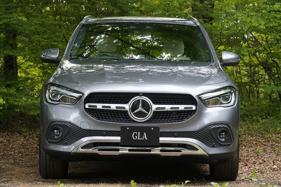 メルセデスベンツ GLA 新型《写真提供 メルセデスベンツ日本》