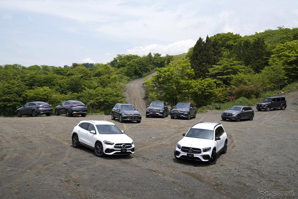 メルセデスベンツSUV群《写真提供 メルセデスベンツ日本》