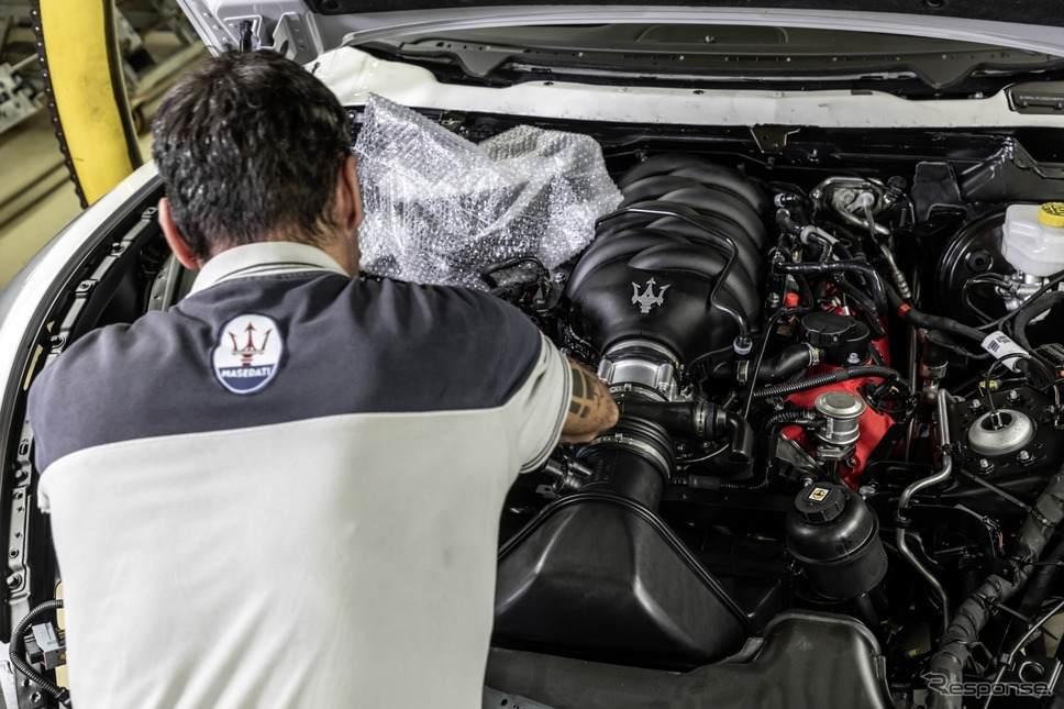 マセラティ・グラントゥーリズモ・ゼダの製作工程《photo by Maserati》