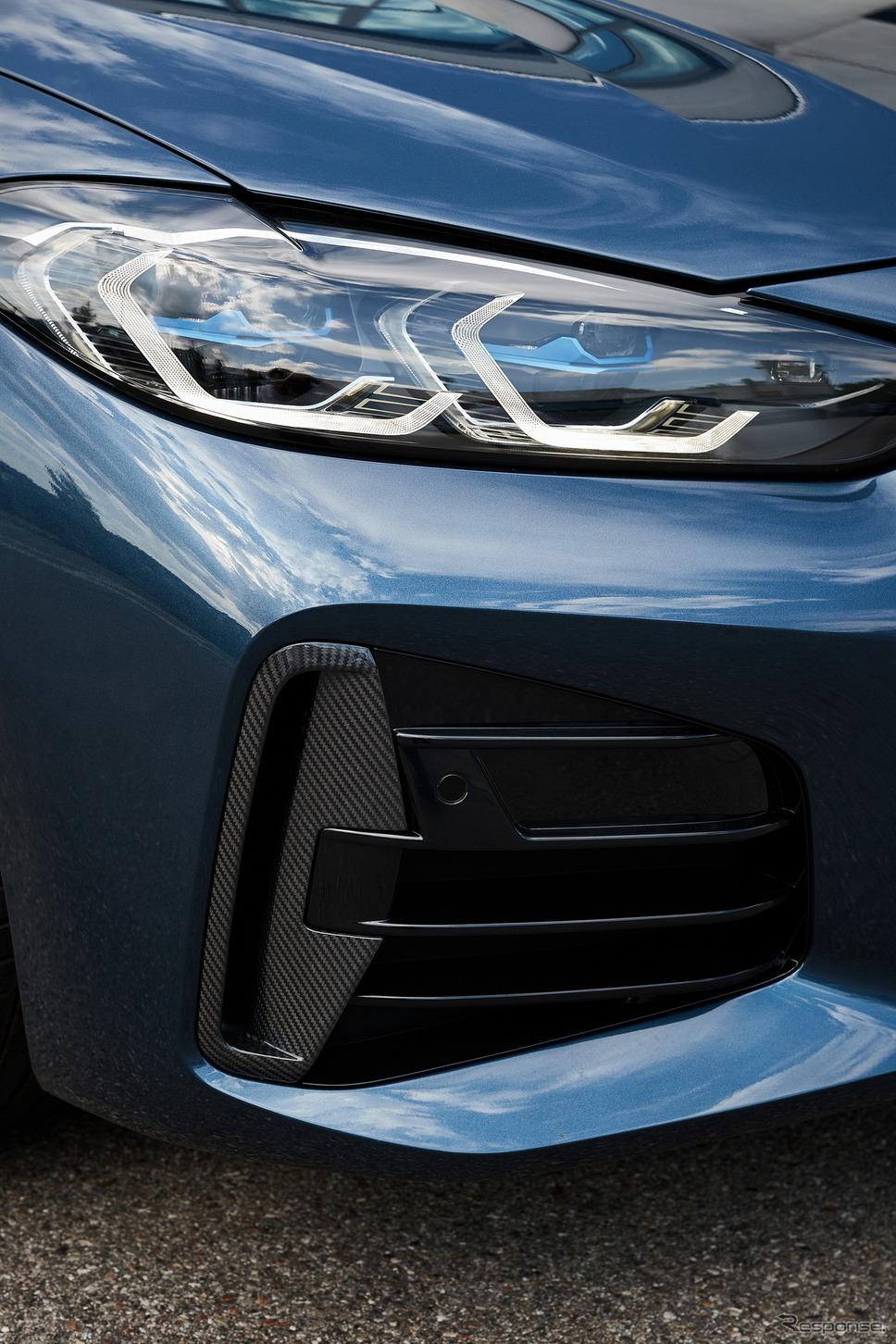 BMW 4シリーズ・クーペ 新型の「Mカーボンエクステリアパッケージ」《photo by BMW》