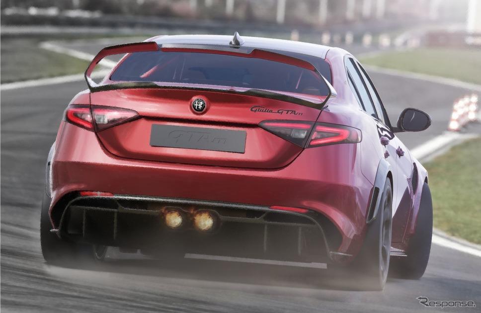 アルファロメオ・ジュリア GTA 新型の「GTAm」《photo by Alfa Romeo》