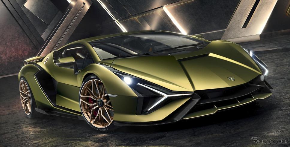 ランボルギーニ・シアン FKP 37(参考画像)《photo by Lamborghini》