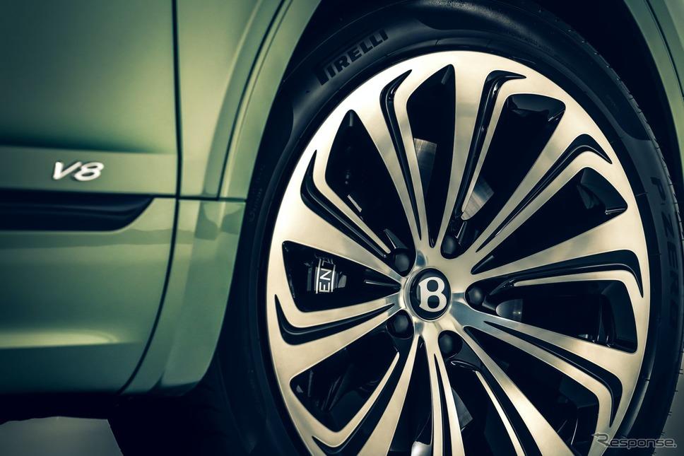 ベントレー・ベンテイガ 改良新型《photo by Bentley》