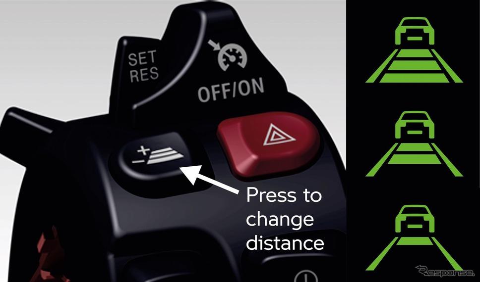 BMWモトラッドの二輪車向けアクティブクルーズコントロール《photo by BMW》