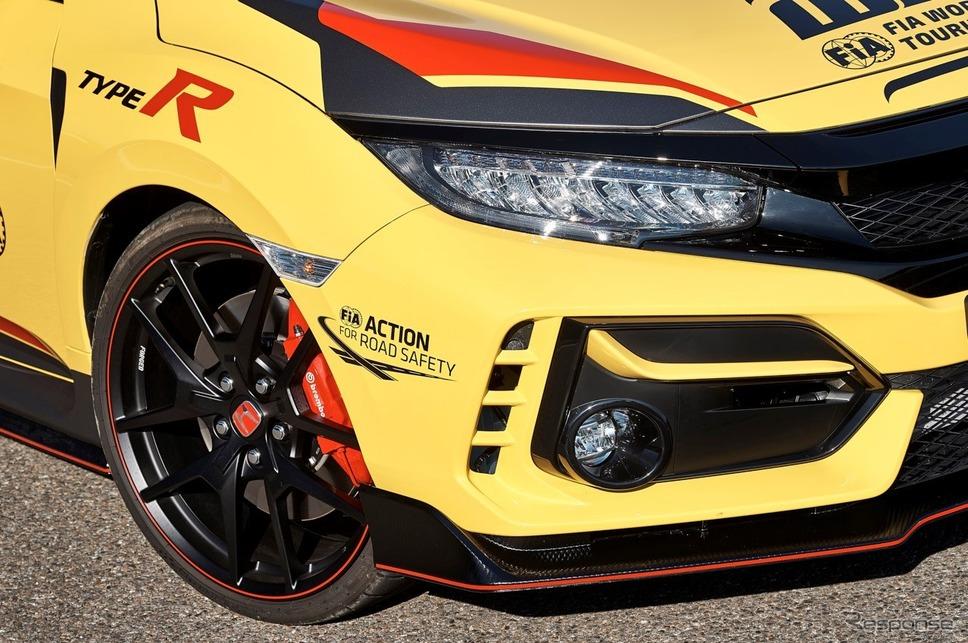 ホンダ・シビックタイプRリミテッドエディションのWTCR公式セーフティカー《photo by Honda》