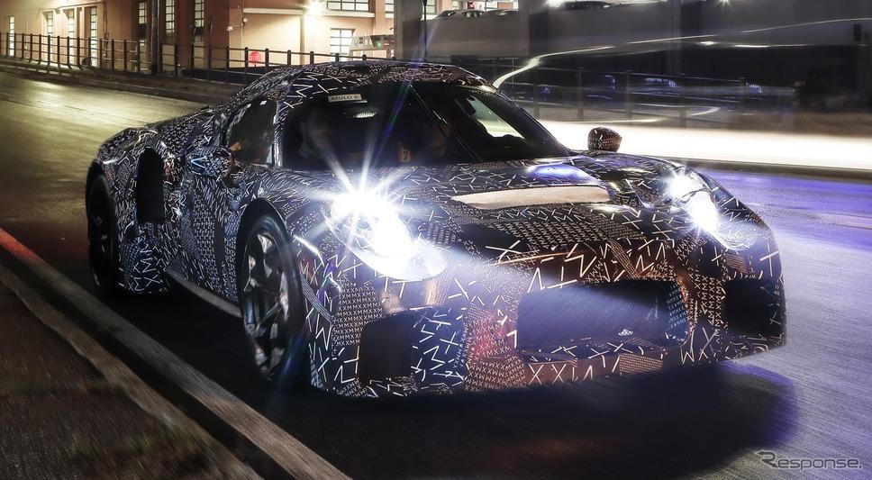 マセラティ MC20 の開発プロトタイプ《photo by Maserati》