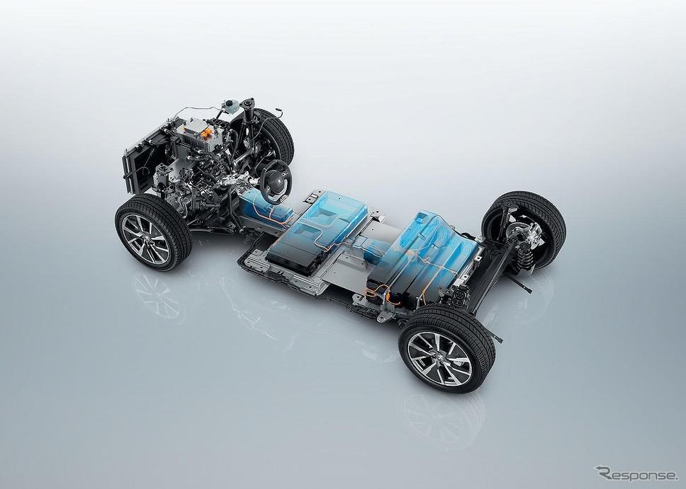 最新世代の車両プラットフォーム CMP《写真提供 プジョー・シトロン・ジャポン》