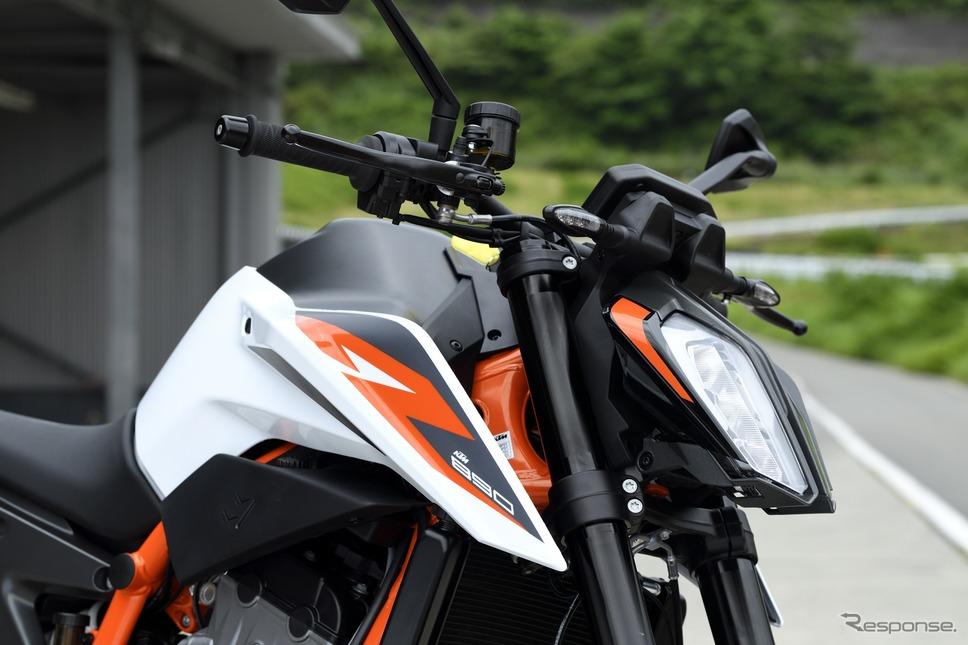 KTM 890DUKE R《写真撮影 雪岡直樹》