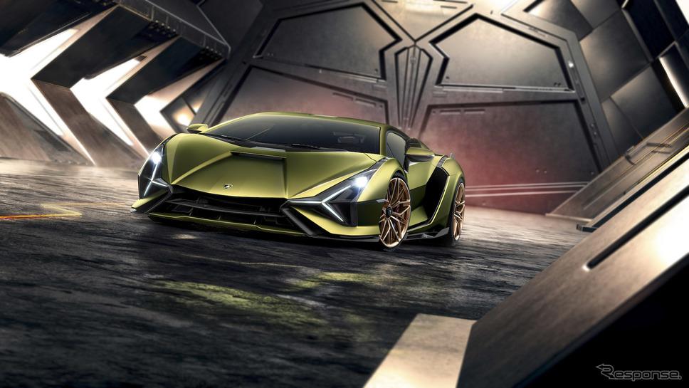 ランボルギーニ・シアン《photo by Lamborghini》