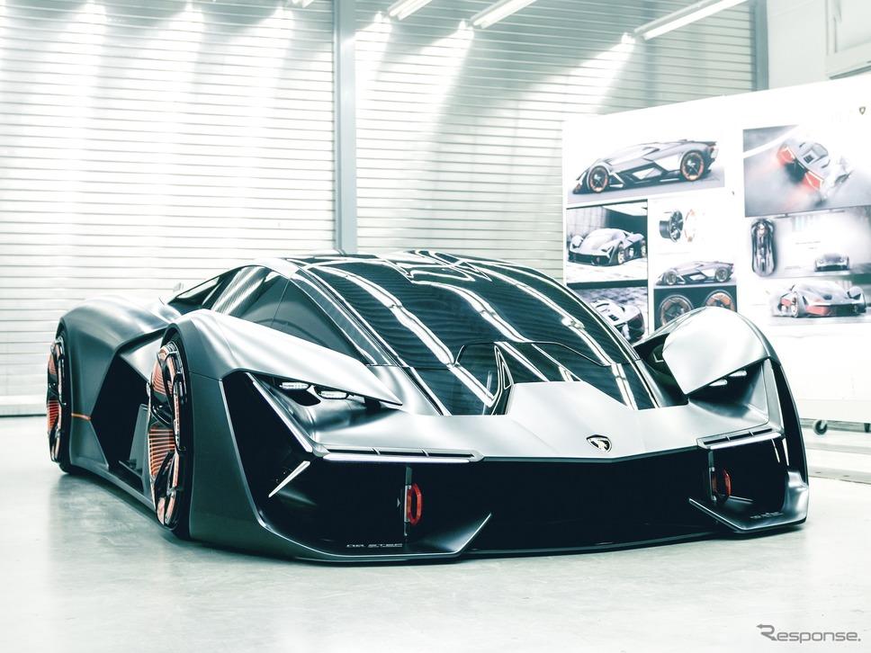 ランボルギーニ・テルツォ・ミレニオ《photo by Lamborghini》