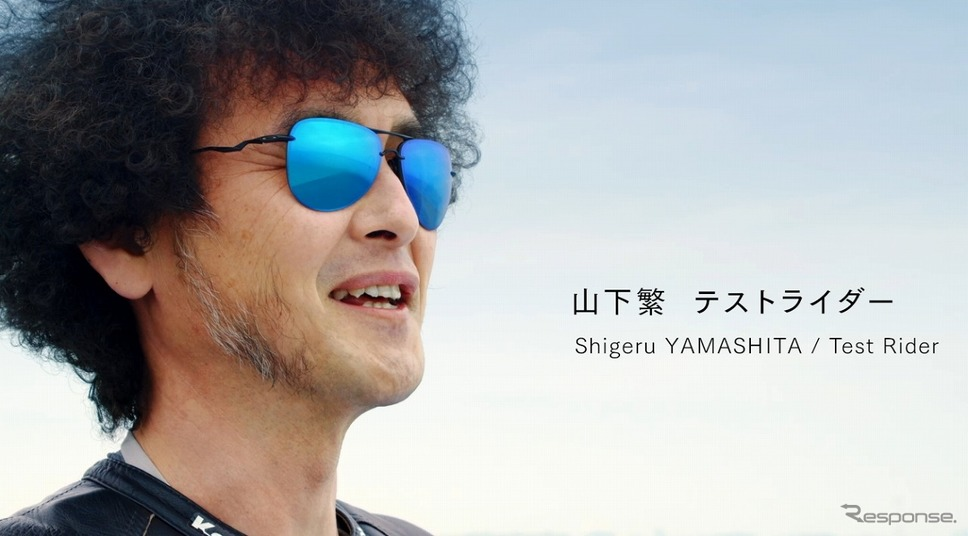 川崎重工 企業ブランドムービー「カワる、サキへ。」モーターサイクル篇《写真提供 川崎重工業》