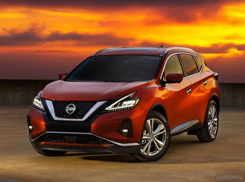 日産 ムラーノ(北米仕様)《photo by Nissan》