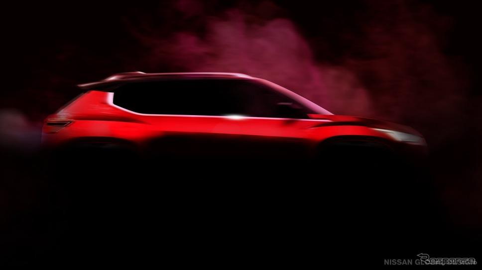 2月に発表されたティザーイメージ《photo by Nissan》