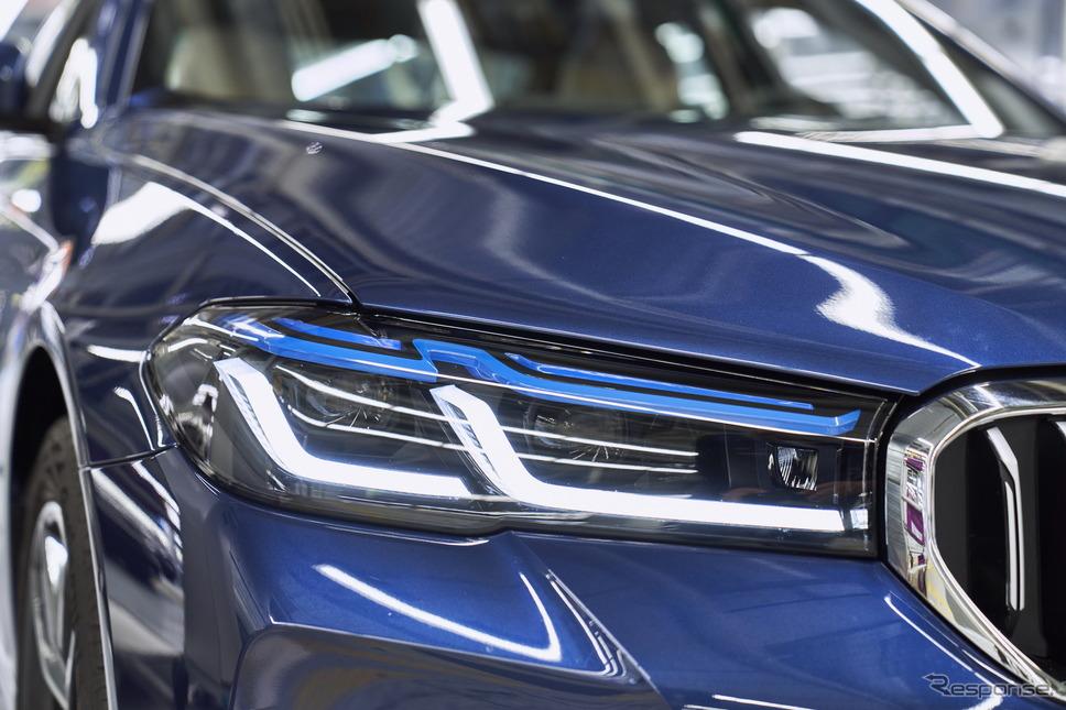 BMWのドイツ・ディンゴルフィンク工場で生産が開始された5シリーズ改良新型《photo by BMW》