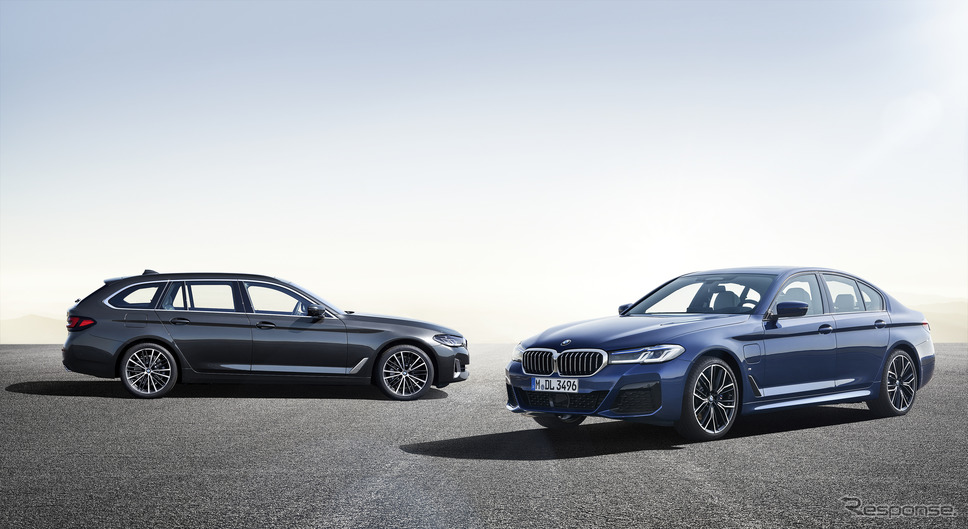 BMW 5シリーズ改良新型《photo by BMW》