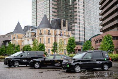 ウーバーが都内でタクシー配車サービスを開始《写真提供 Uber》