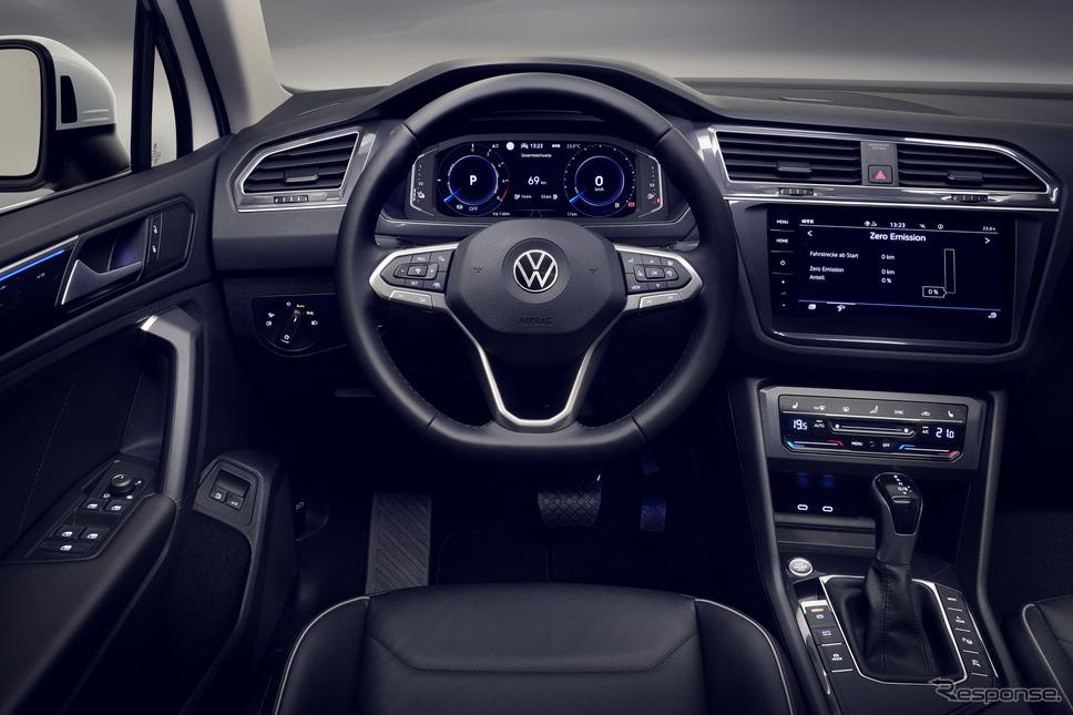 フォルクスワーゲン・ティグアン 改良新型のPHV「eハイブリッド」《photo by VW》