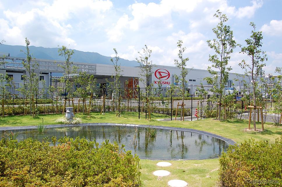 ダイハツ九州久留米工場(資料画像)《写真提供 ダイハツ工業》