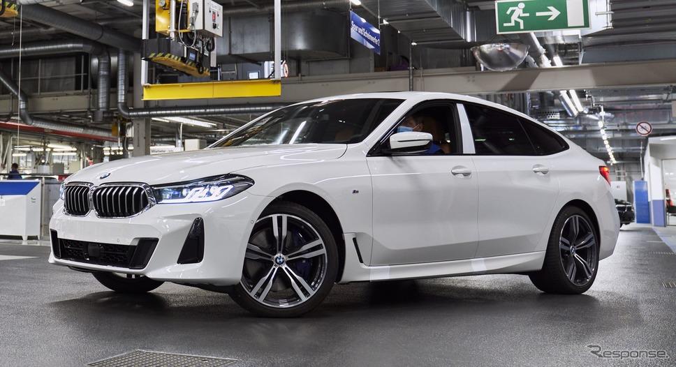 BMWのドイツ・ディンゴルフィンク工場で生産を開始した 6シリーズ・グランツーリスモ 改良新型《photo by BMW》