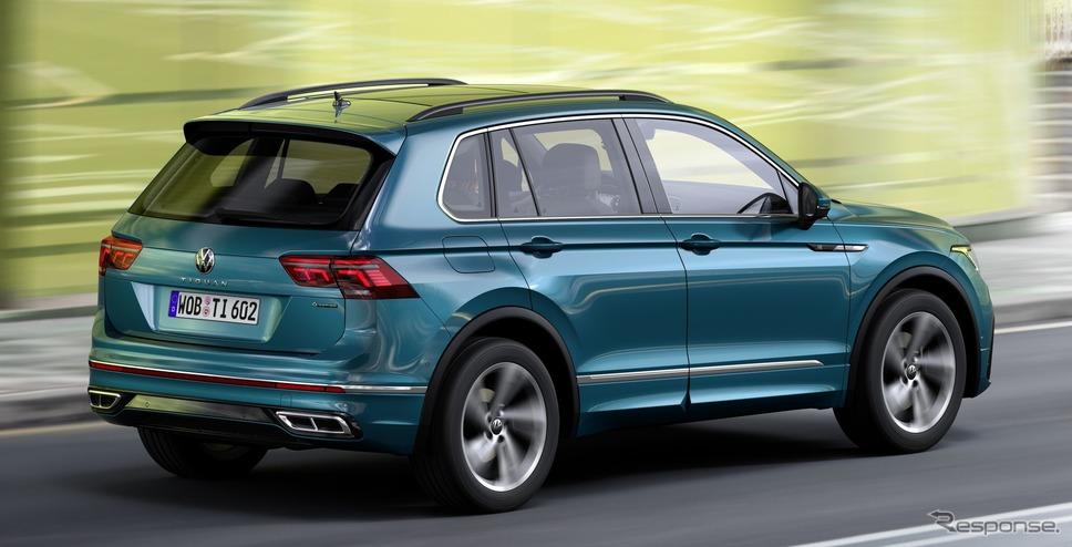 フォルクスワーゲン・ティグアン 改良新型《photo by VW》