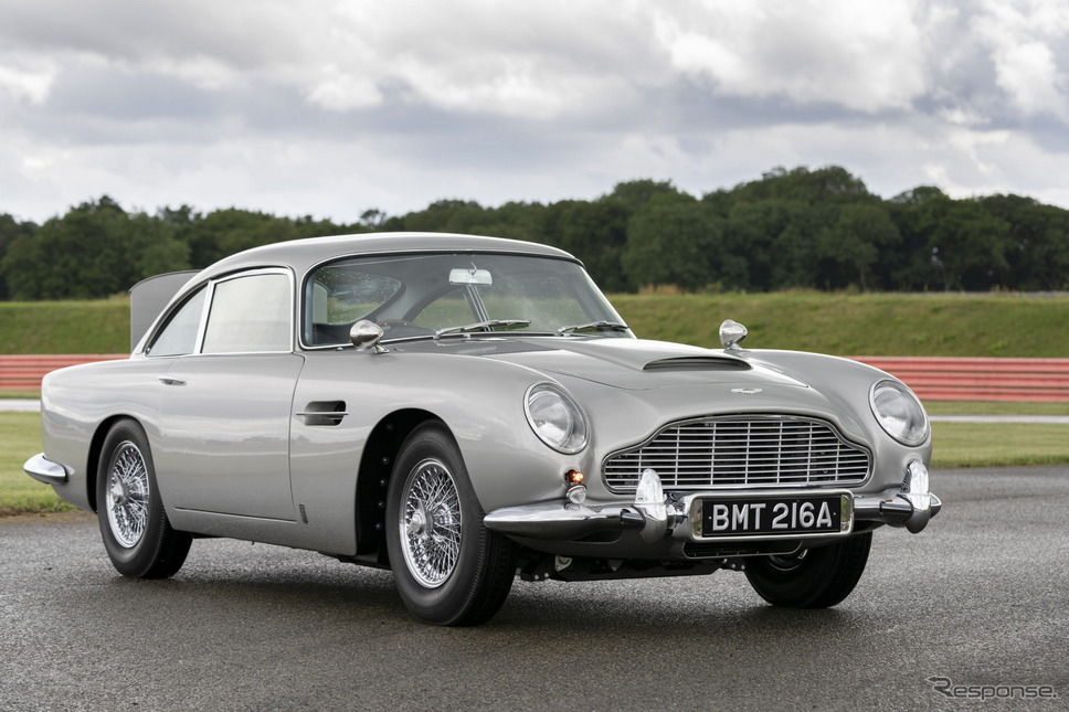 アストンマーティン DB5 ゴールドフィンガー・コンティニュエーション《photo by Aston Martin》