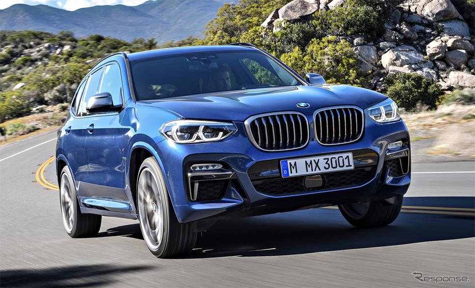 BMW X3《photo by BMW》