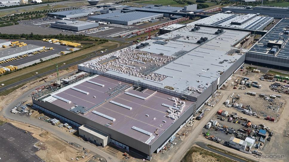 ポルシェのドイツ・ライプツィヒ工場《photo by Porsche》