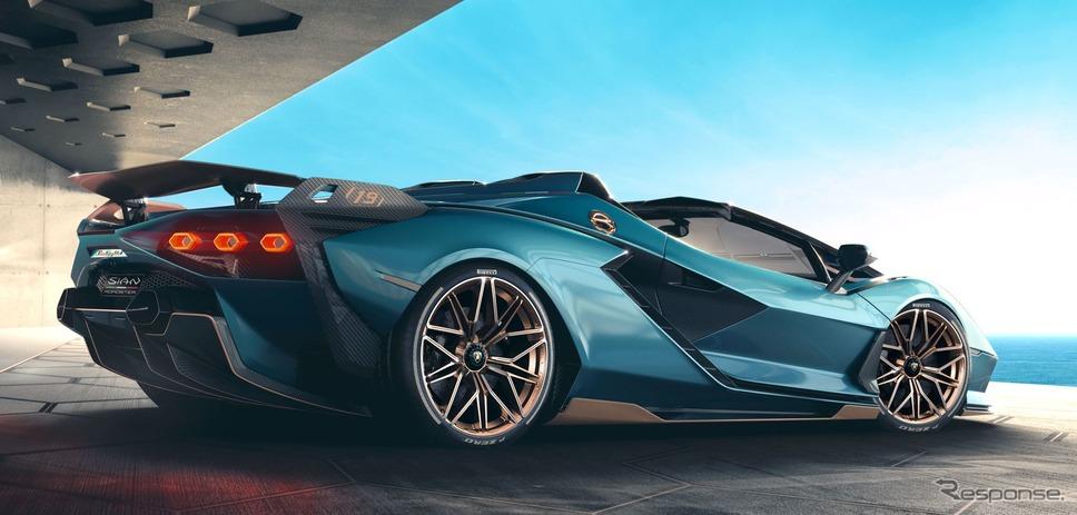 ランボルギーニ・シアン・ロードスター《photo by Lamborghini》