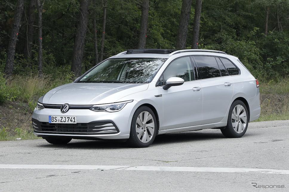 VW ゴルフヴァリアント 新型プロトタイプ《APOLLO NEWS SERVICE》