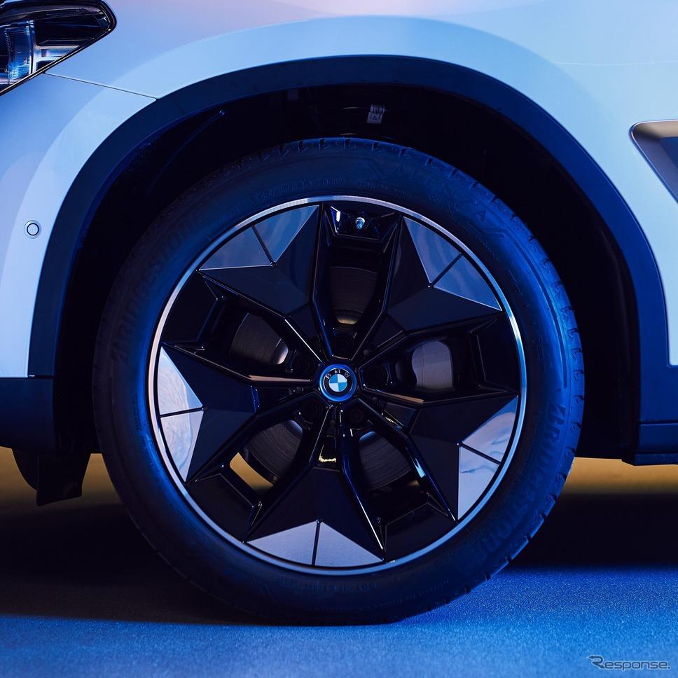 BMW iX3に採用されるエアロダイナミックホイール《photo by BMW》