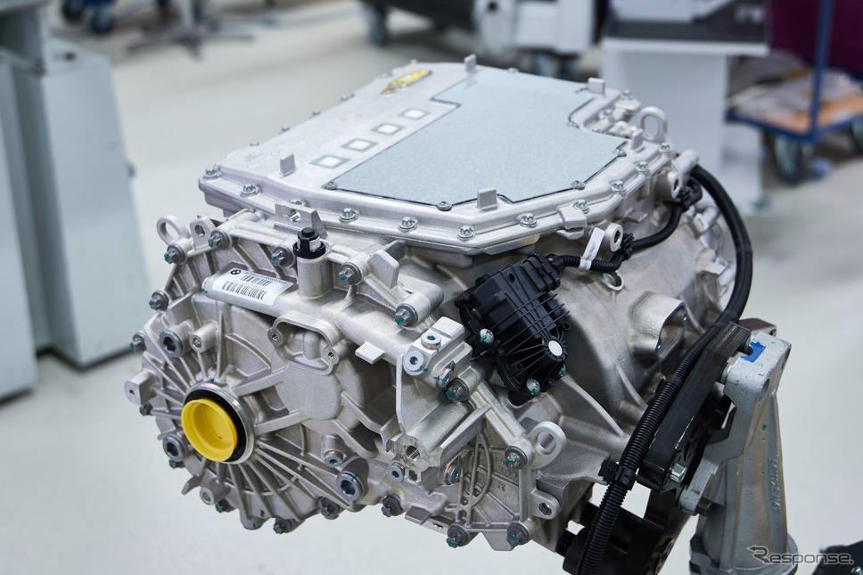 BMW iX3 のEVパワートレイン《photo by BMW》