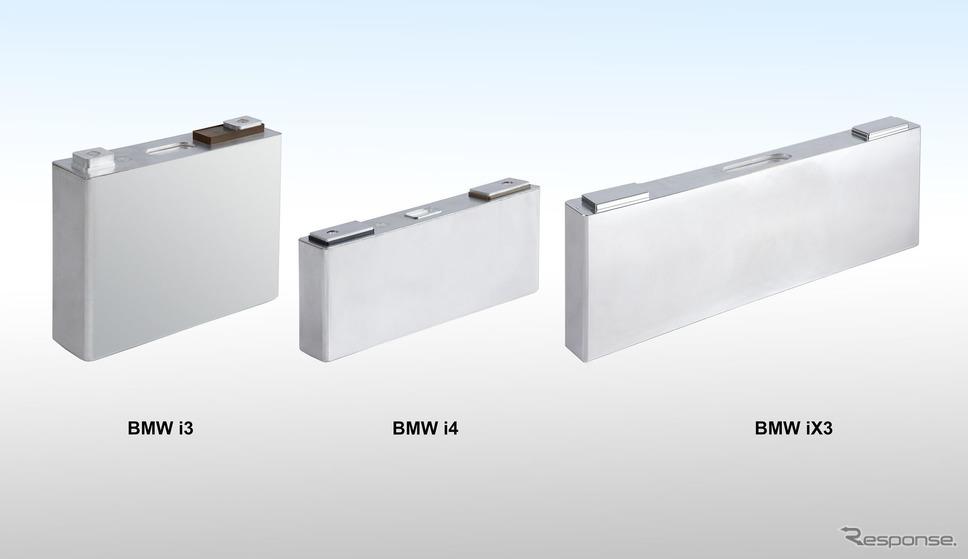 BMW iX3 のバッテリー《photo by BMW》