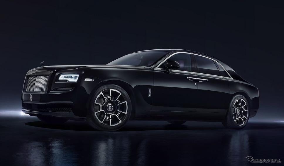 ロールスロイス・ゴースト・ブラックバッジ《photo by Rolls-Royce Motor Cars》