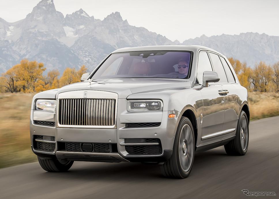 ロールスロイス・カリナン《photo by Rolls-Royce Motor Cars》