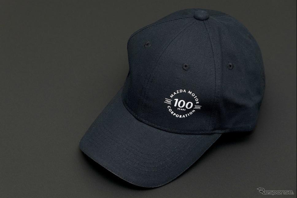 マツダ 100周年記念ロゴキャップ《写真提供 MZRacing》