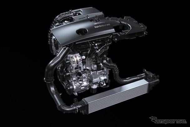 アクティブトルクロッドが搭載されている量産可変圧縮比エンジン「VC ターボ」自動車技術会発行「第70回自動車技術会賞 受賞者発表用パンフレット」より引用