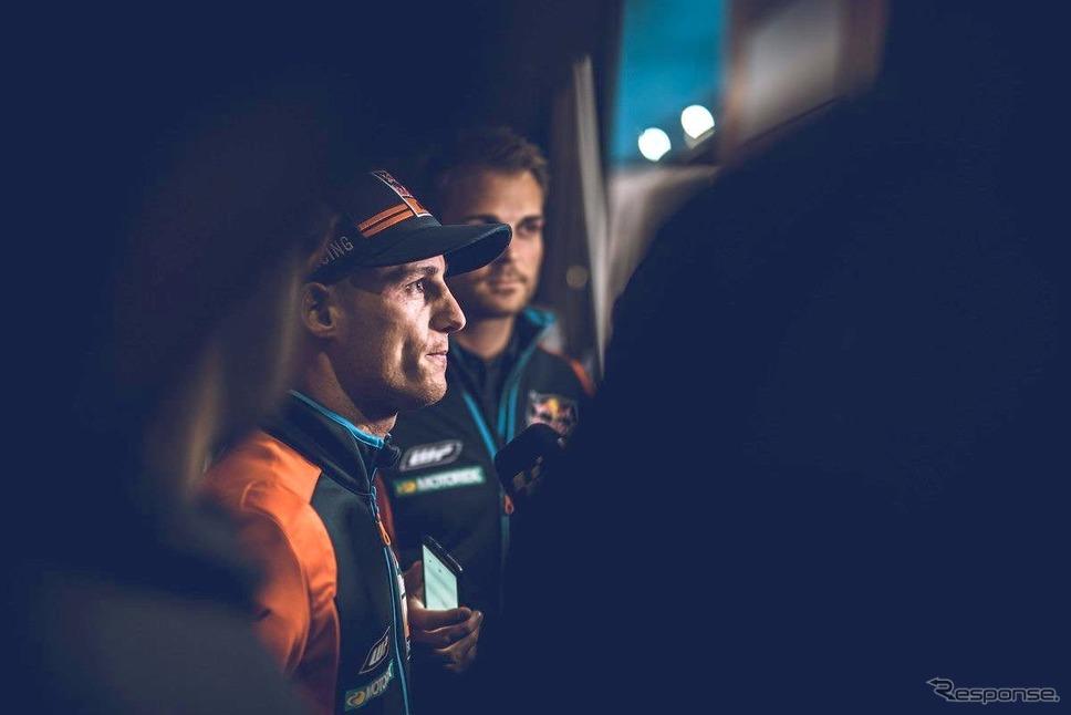 ポル・エスパルガロ(KTM。2019年11月、バレンシアテスト)《photo by Lulop》