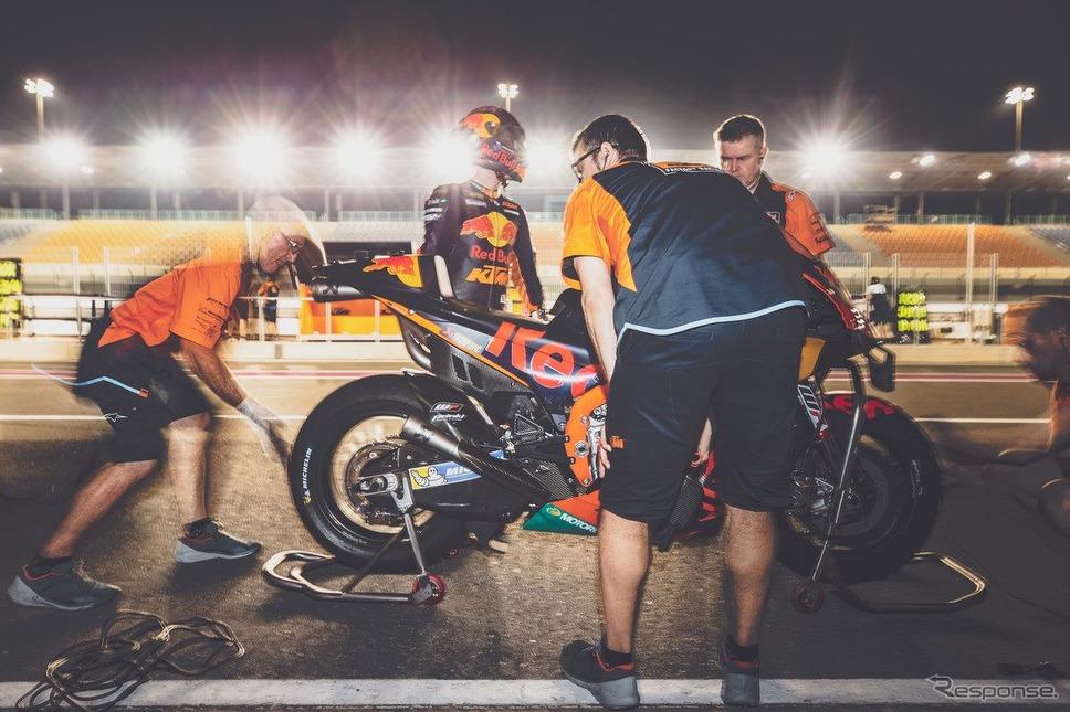 ポル・エスパルガロ(KTM。2020年2月、カタールテスト)《photo by Lulop》