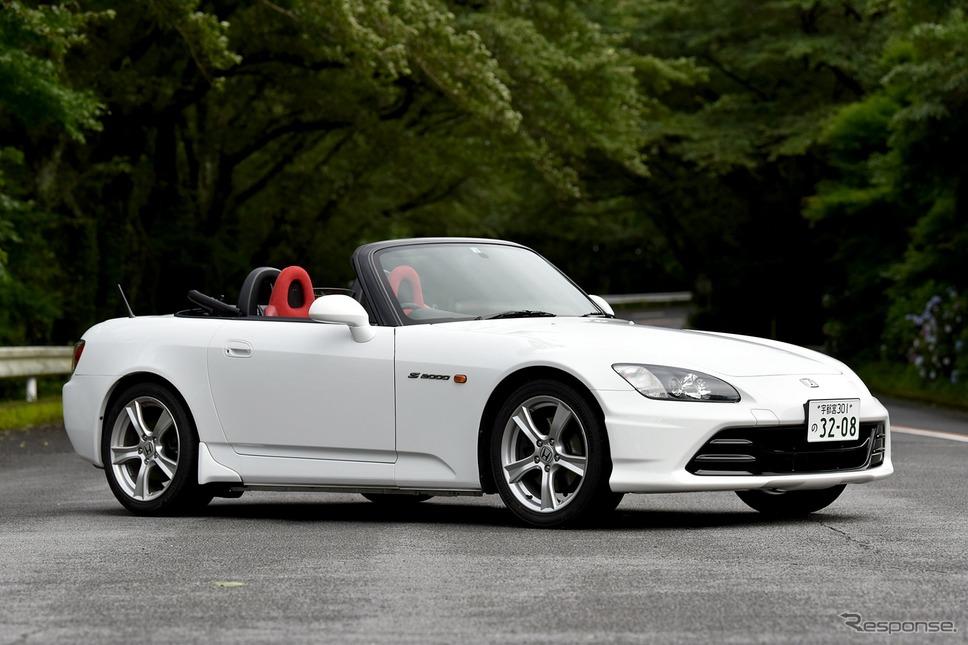 ホンダ S2000 20周年記念純正アクセサリー装着車《写真撮影 中野英幸》
