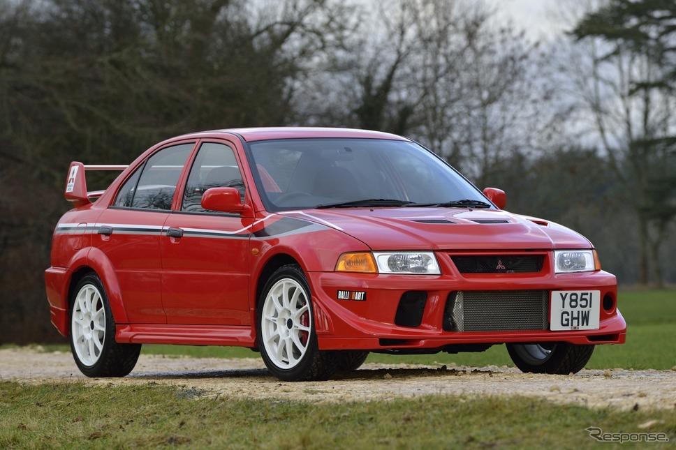 三菱ランサーエボリューションVI トミー・マキネンエディション(2000年)《photo by Mitsubishi Motors》