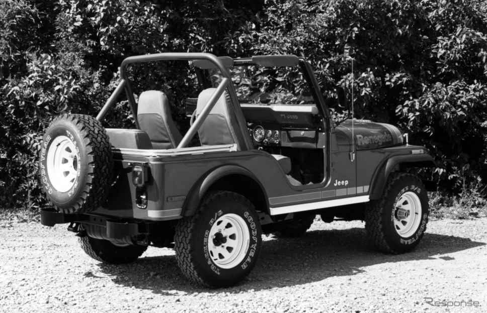 5.0リットルV8を搭載していたジープ CJ-5 レネゲード(1980年)《photo by Jeep》