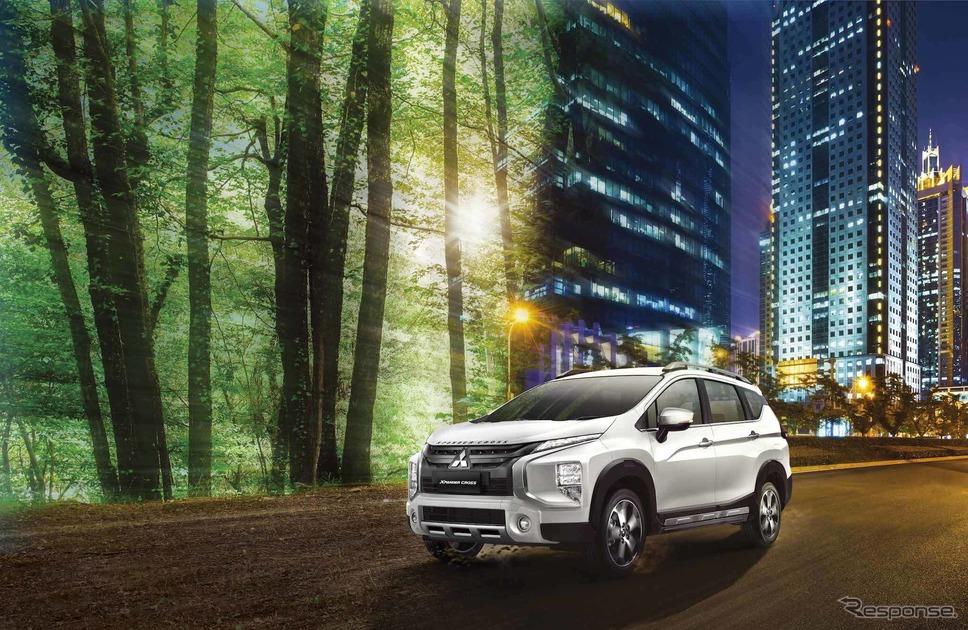 三菱エクスパンダークロス《写真提供 三菱自動車工業》