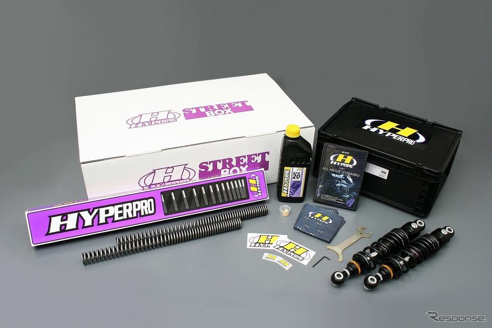 ハイパープロ XL883N 14-15 ストリートボックス