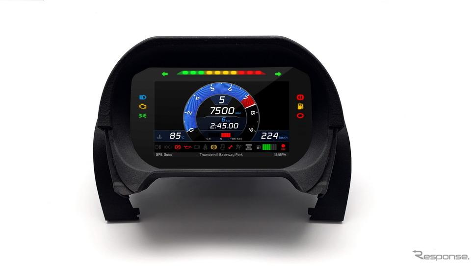 ロータスカーズの「デジタル・インストルメント・パック」《photo by Lotus Cars》