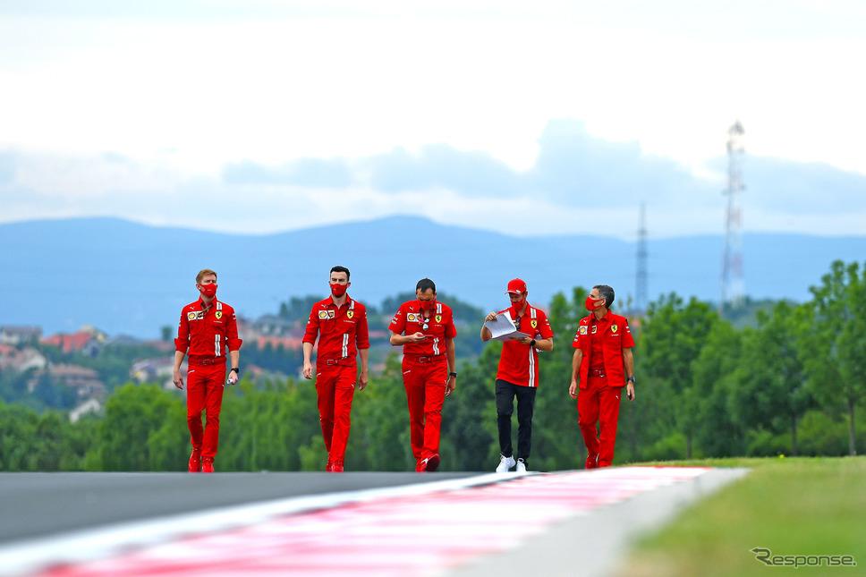 F1ハンガリーGP、フェラーリ(7月16日)《Photo by Ferrari》
