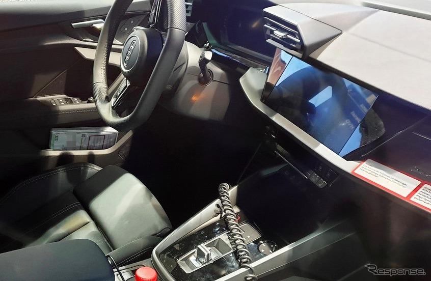 アウディ S3スポーツバック 新型プロトタイプ(スクープ写真)《APOLLO NEWS SERVICE》