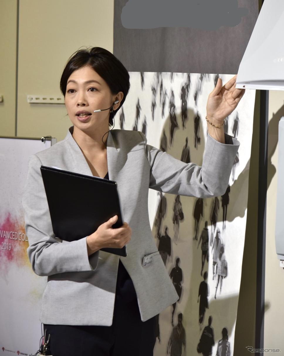 カラーデザイナーの小野郁美さん《写真提供 関西ペイント》